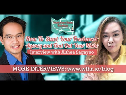 🔴 How To Start Your Freelancer Agency and Find Out Your Niche | Althea Sagayno | JasSuccess 002