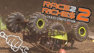 RACE TO RICHES 2 CRASH COMPILATION