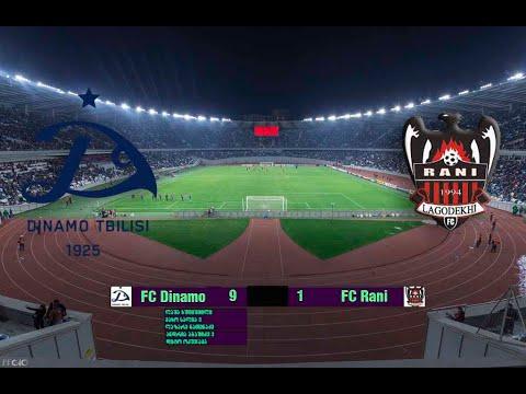 Dinamo academy 2007 9:1 FC Rani 2006 16.11.19