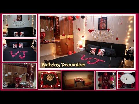 Birthday Gifts Decoration Ideas For Husband Boy Friend Diy Artistic Alisha Youtube