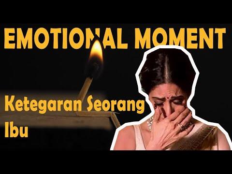EMOTIONAL MOMENT : KETEGARAN SEORANG IBU MENYAMPAIKAN PESAN KEPADA KELUARGANYA