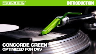 Reloop Concorde Green Cartridge: Optimized for DVS