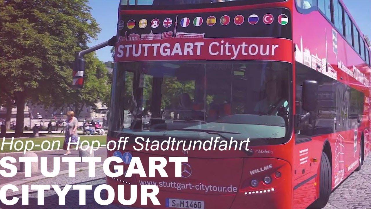 Stuttgart Citytour - Hop-on Hop-off Citytour - Urlaubsregion