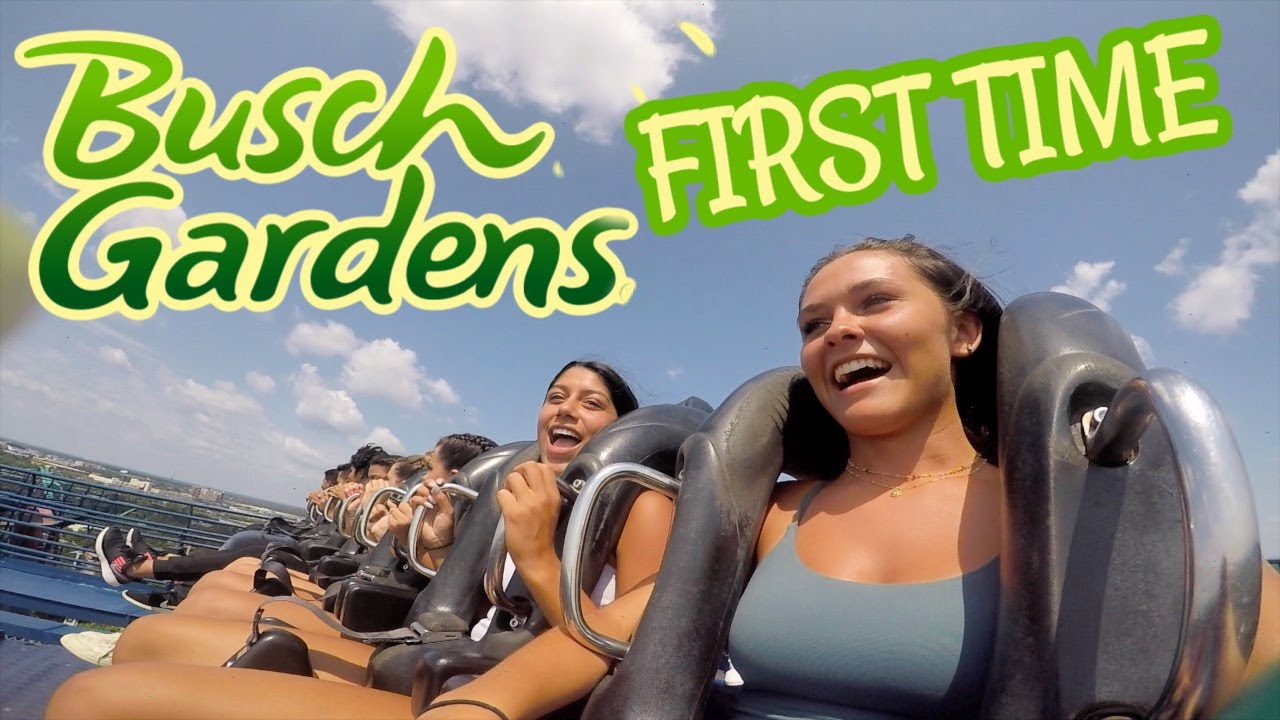 MY BEST FRIENDS FIRST TIME AT BUSCH GARDENS! EMMA AND ELLIE FAMILY