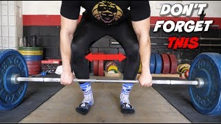 This Important Deadlift Tip EVERYONE Forgets