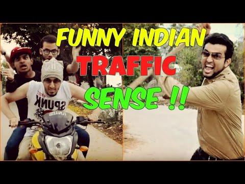 Funny Indian Traffic Sense l The Baigan Vines