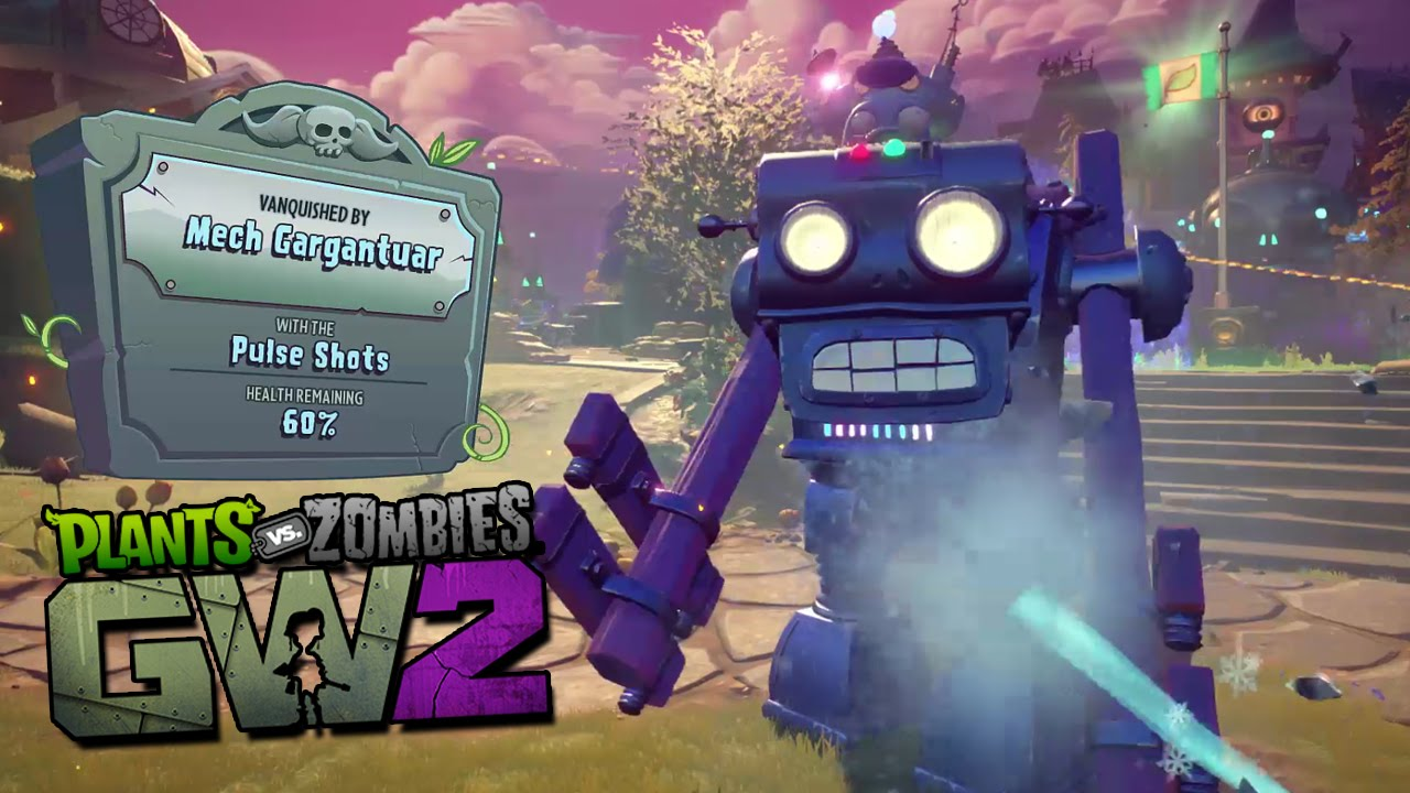 Gaming With Subscribers Captin Plush Bowserbro 9000 Plants Vs Zombies Garden Warfare 2