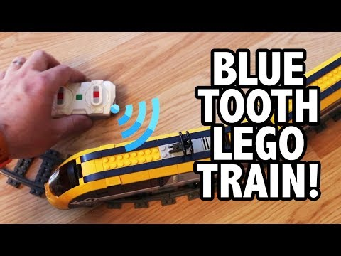 REVIEW: LEGO Passenger Train With NEW Power Functions 2.0