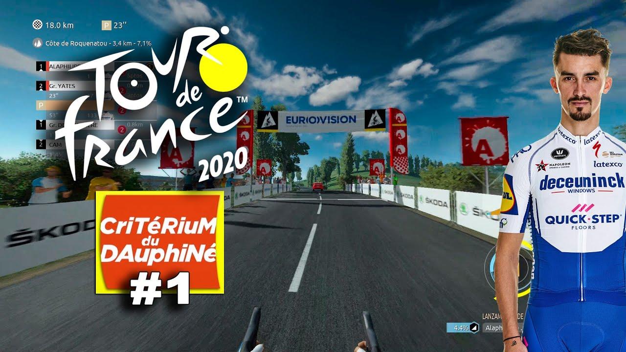 TOUR DE FRANCE 2020 Dauphiné con Alaphilippe #1 VR_JUEGOS
