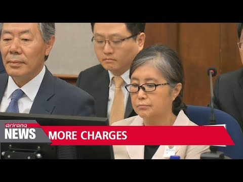 Ex-president Park Geun-hye charged with accepting bribes from NIS
