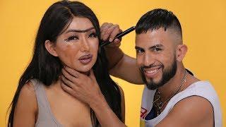 EX BOYFRIEND DOES MY MAKEUP! | Nikita Dragun