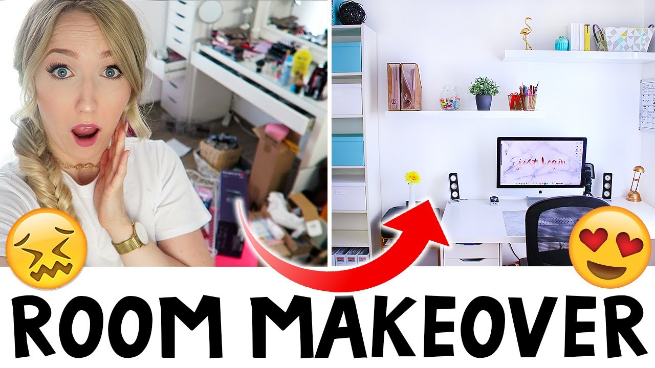 Room makeover schreibtisch organisation einrichten for Schreibtisch organisation
