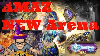 Amaz hearthstone Arena on mage [Hearthstone]