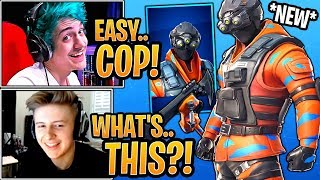 Streamers React to the *NEW* Hypernova Skin & Brute Force Pickaxe! - Fortnite Moments