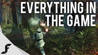 Star Wars Battlefront Multiplayer Gameplay - ALL THE THINGS