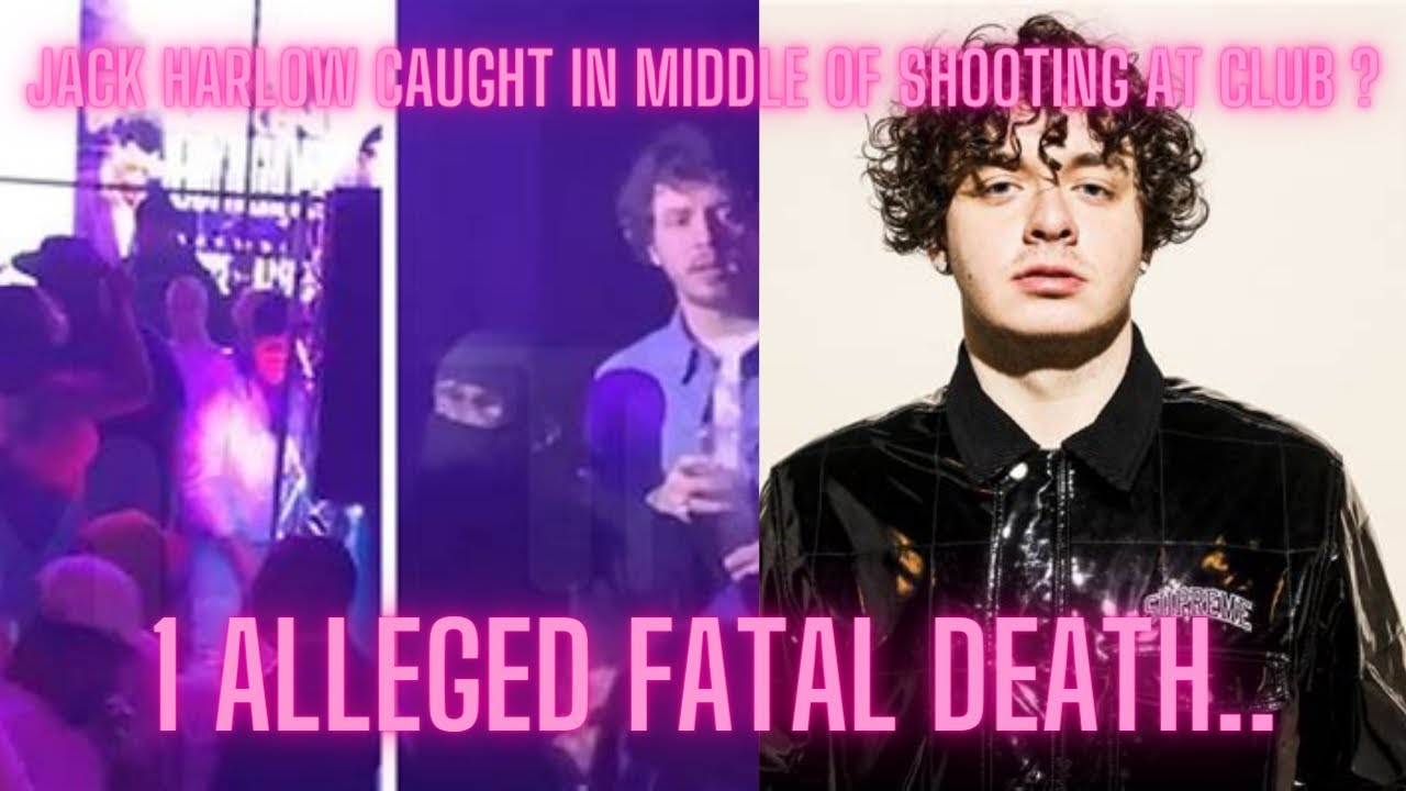 Jack Harlow Filmed Fleeing Fatal Kentucky Nightclub Shooting