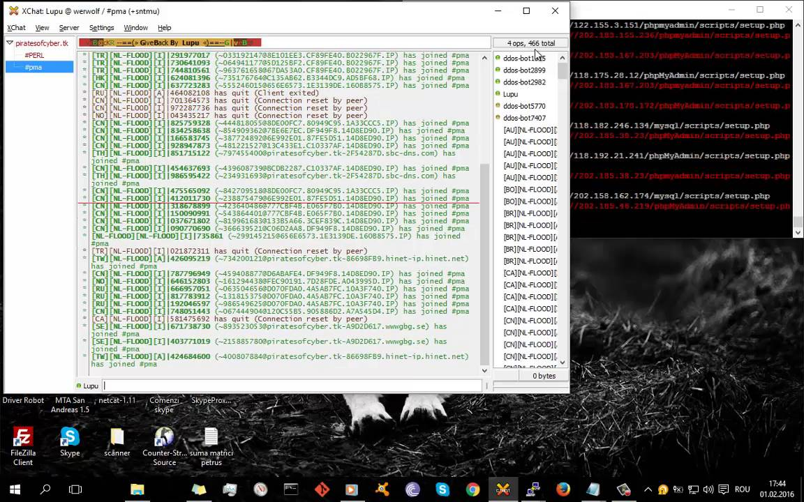IRC PMA exploit 2016 - YouTube
