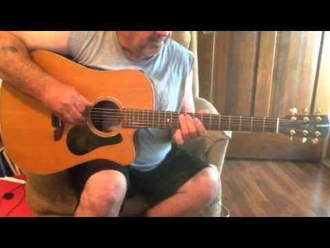 Guitar video for Oklahoma Sky by Miranda Lambert