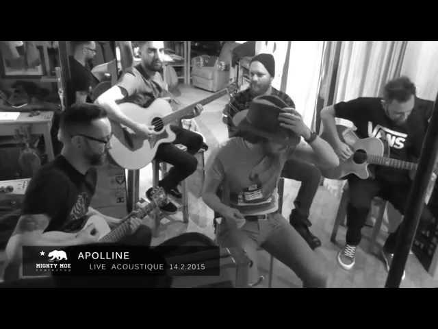 Apolline ~ LIVE @ Mighty-Moe Skateshop (Blois - 14/2/15)