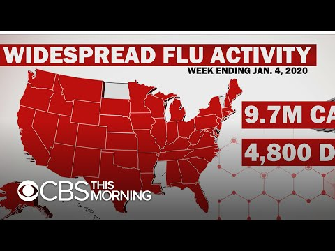 Flu Season: Nearly 10 Million Sickened So Far