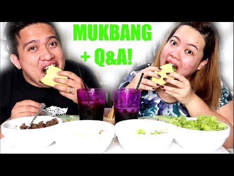 TACOS MUKBANG + Q&A! | VLOGMAS: Day 2
