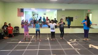 Indian Dance Workout on Punjabi Song Bhangra