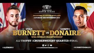 Burnett vs Donaire - WBSS Season 2 Bantamweight QF4