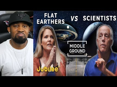REACTS TO - Flat Earthers vs Scientists Can We Trust Science!! thumbnail