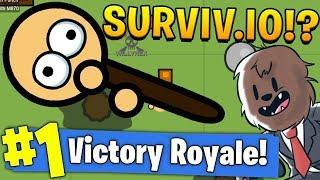 THIS .IO GAME COULD KILL FORTNITE - SURVIV.IO