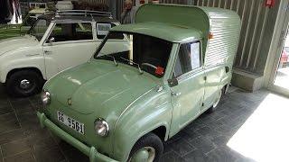 1965 - Goggomobil Furgoneta FM 350 - Exterior and Interior - Technorama Ulm 2016