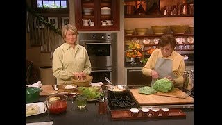 Stuffed Cabbage- Martha Stewart