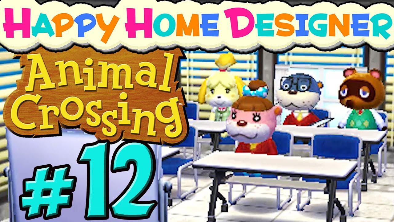 ANIMAL CROSSING HAPPY HOME DESIGNER  20 🏠 Ein Büro mit allem Drum und  Dran
