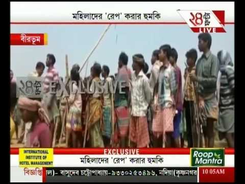Birbhum: Locals alleges police helping sand mafias