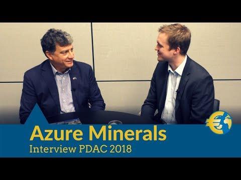 Gold, Cobalt, Kupfer, Zink und mehr in Mexiko: Azure Minerals Interview PDAC 2018