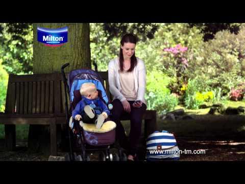 Milton Mini Portable Soother Steriliser TV Advert