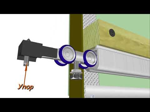 Перегородка из гипсокартона с раздвижной дверью своими руками видео