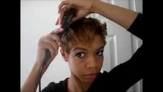 quick easy short hair style