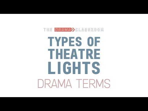 Different Types Of Theatre Lights