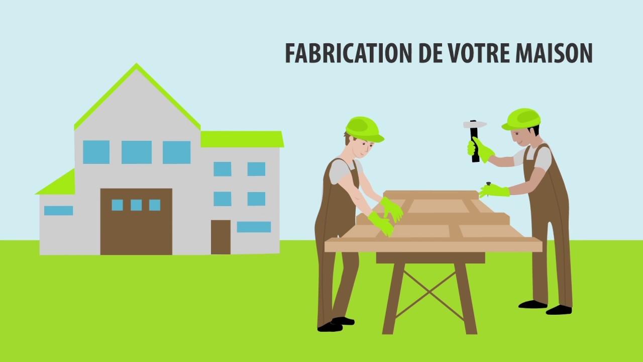 ID MAISON BOIS - Constructeur de maison en ossature bois   2D Flat ...
