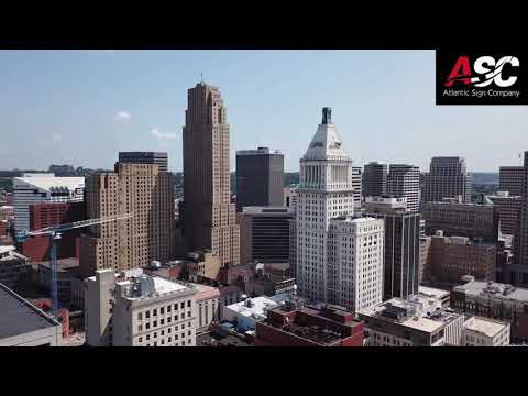 Drone Footage of the Enquirer/Cincinnati.com Building in Cin
