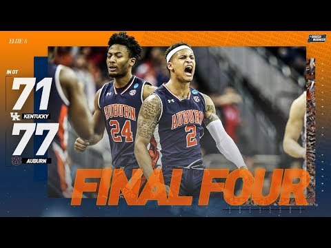 Van Riggs - Highlights of Auburn's win over Kentucky in the Elite Eight!