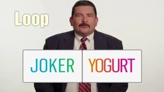 What do to hear Joker or Yogurt | Joker vs Yogurt (Loop)Joker or Yogurt|| Loop New LannyAndLaurel ||