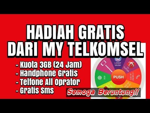 Daparkan Hadiah Handphone Gratis Dan Kuota 3gb Dari Telkomsel Youtube