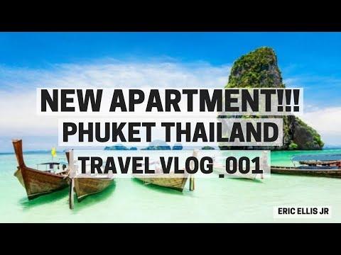 MY NEW APARTMENT! Phuket Thailand TRAVEL Vlog - ERIC ELLIS JR