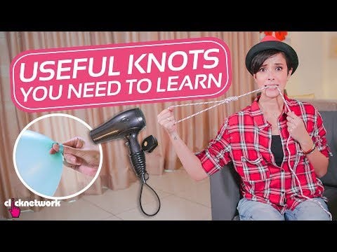 Useful Knots You Need To Learn - Hack It: EP54