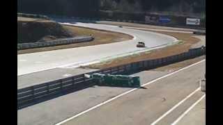 Roulage circuit pole mécanique Alès Super 5 GT Turbo (part 1)