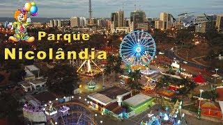 Brasília vista de cima - Parque Nicolândia - Drone