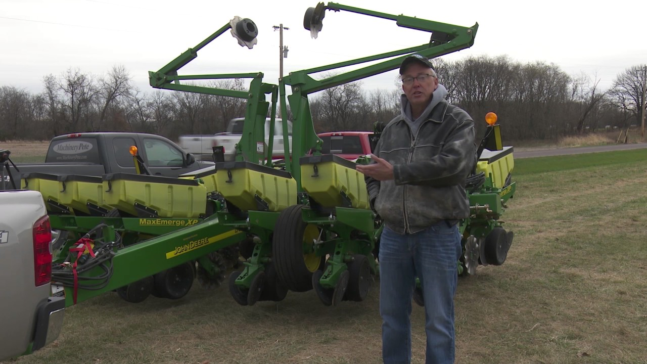 Agday Tv Machinery Pete Talks John Deere 1760 Planter Values Youtube
