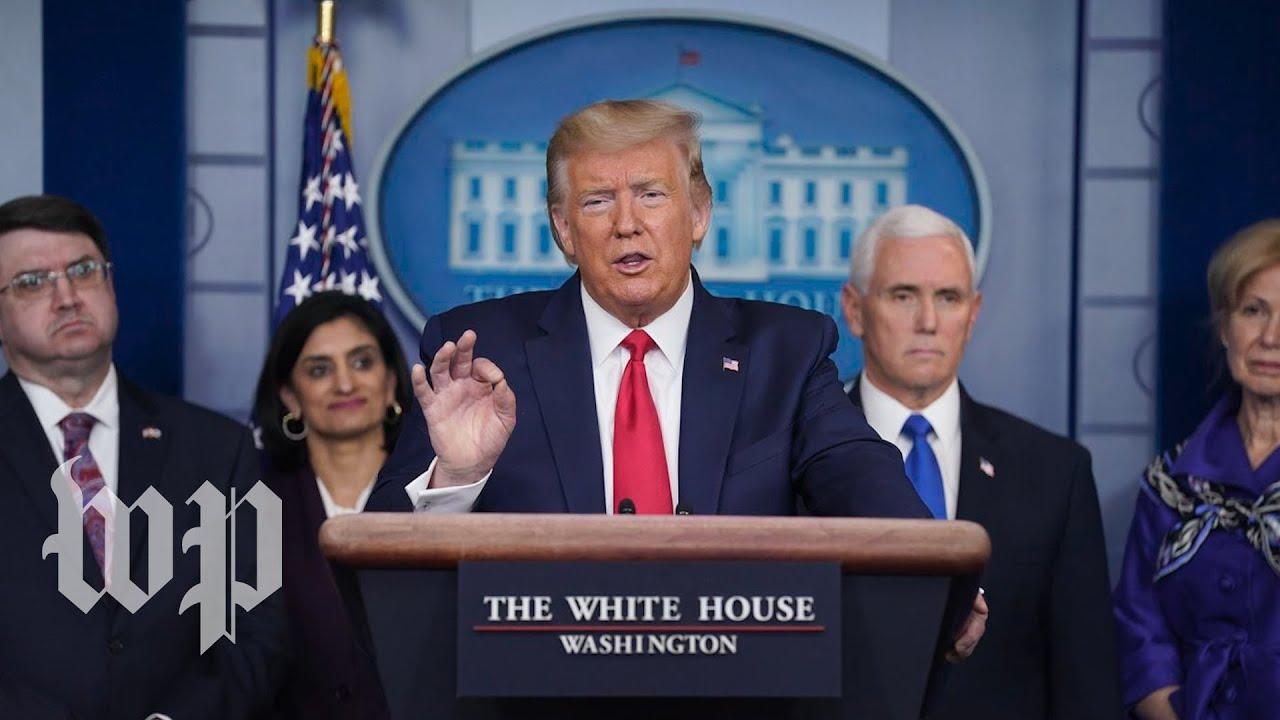 WATCH: Trump, White House coronavirus task force hold news conference - 3/18 (FULL LIVE STREAM)