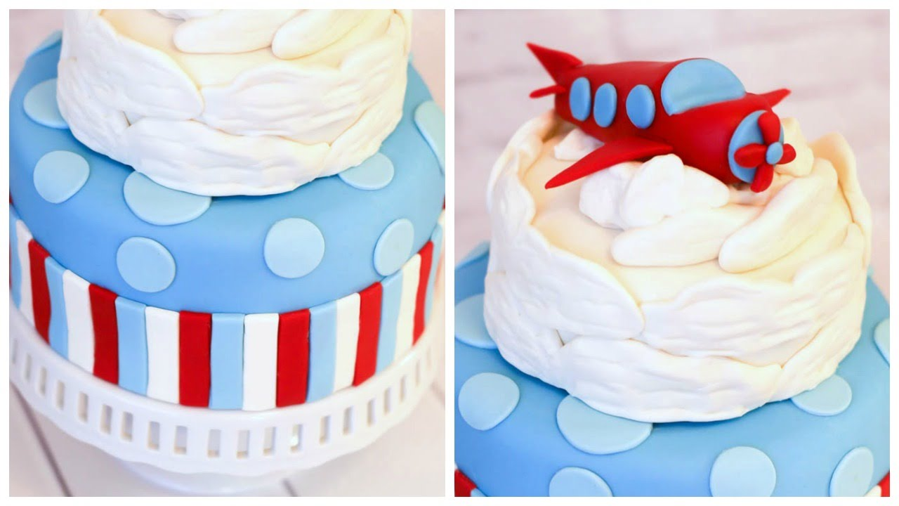 Airplane Cake Meagan Makes Cupcakes YouTube